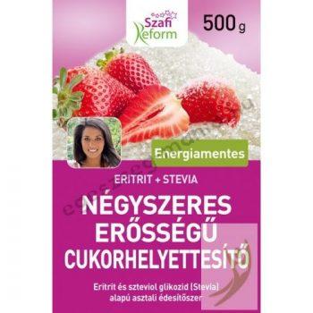 Szafi Reform Négyszeres erősségű cukorhelyettesítő 500 g