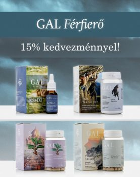GAL csomag Férfierő