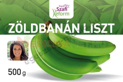 Szafi Reform Zöldbanán liszt 500 g